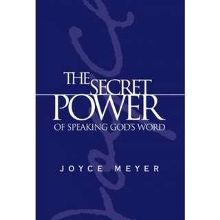 [eBook] The Secret Power of Speaking God's Word - Joyce Meyer