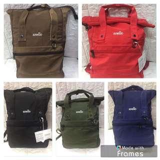 Anello Canvass Bag