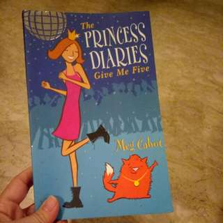 The Princess Diaries By Meg Cabot - Give Me Five