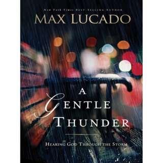 [eBook] A Gentle Thunder - Max Lucado