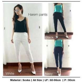 Harem Pants White