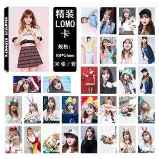 TWICE JIHYO KNOCK KNOCK LOMO CARDS 30 PCS