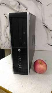 90%新 HP i3-2120細機箱 win 7拉臣 一鍵還原 即買即用