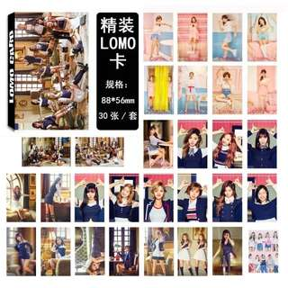 TWICE SIGNAL LOMO CARDS 30 PCS