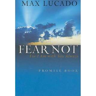 [eBook] Fear Not - Max Lucado