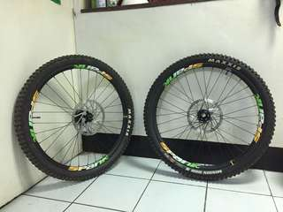 Wheelset dh glory amp2 27.5
