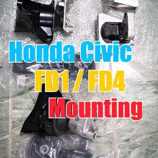 Honda Civic FD1 / FD4 Engine Mounting
