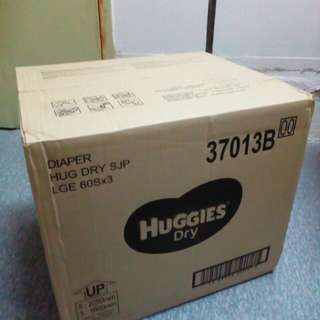 Pampers Huggies Tape Size L