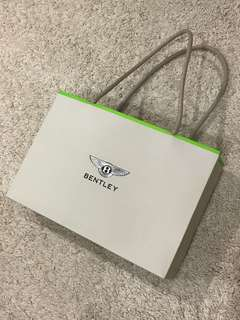 Bentley Paper Bag