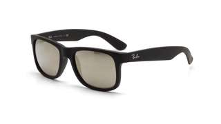 Ray Ban Justin Black RB4165