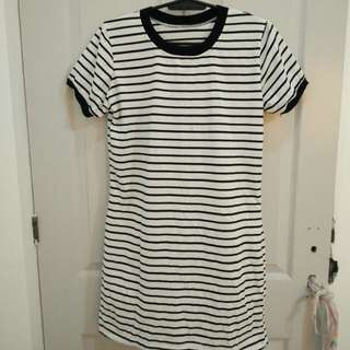 Stripes ringer dress