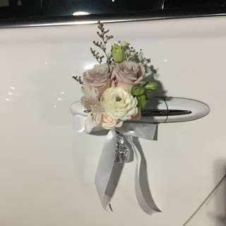 Premium Roses with Mix Fillers / Bridal Car Deco