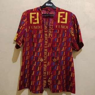 Baju motif FENDI