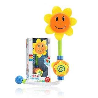 愛兒優 兒童 向日葵 洗澡浴室玩具 親子教育