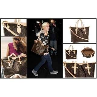 lv palermo 2 way handbag