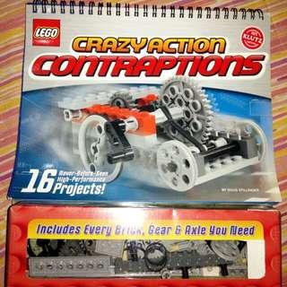 Klutz Lego Crazy Action Contraptions Kit intl