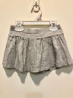 H&M女童薄棉短裙1.5-2Y 七成新