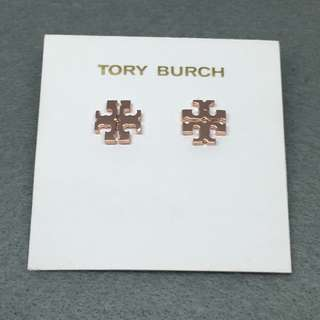 Tory Burch Sample Earrings 玫瑰金色經典耳環