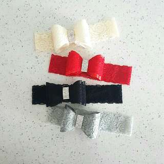 Exclusive Lacey Bow Baby Headband!! 😄