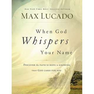 [eBook] When God Whispers Your Name - Max Lucado