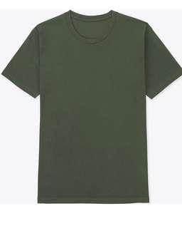 Uniqlo全新軍綠上衣
