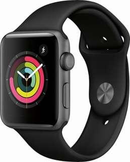 Apple Watch series 3 38mm + 42mm 各一,要全新