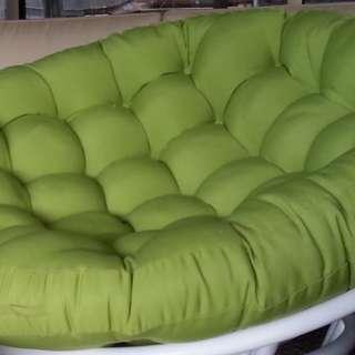Round cushion for Papasan chair