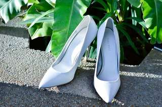 Wedding Shoes / White Shoes