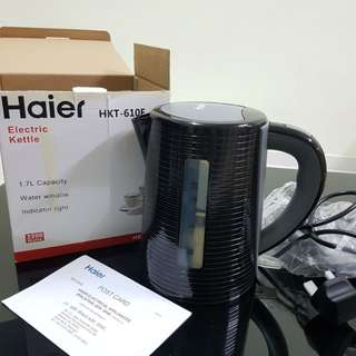 HAIER Electric Kettle for sale at RM50! New item!