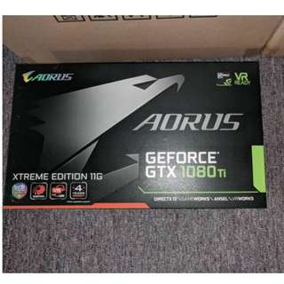 Gigabyte GeForce GTX 1080 Ti AORUS Xtreme Edition 11GB