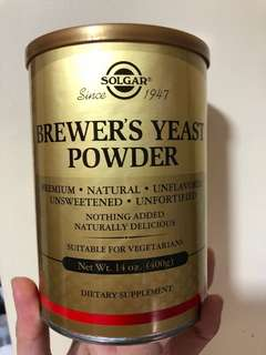 Solgar Brewer's Yeast Powder 14oz (400g)