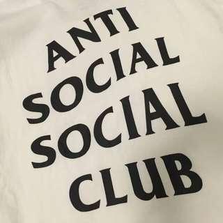 全新ASSC t恤 anti social social club