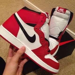 🚚 Nike Jordan AJ1 女