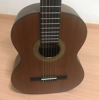 Basic standard size 4/4 guitar for beginners (fabric case included)