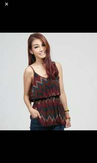 Hollyhoque Zigzag Top