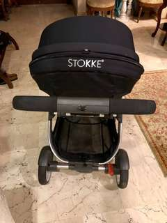 STOKKE CRUSI pram stroller pushchair excellent condition with lots of freebies!