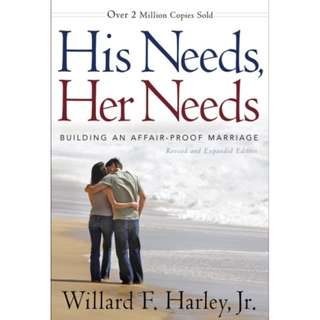[eBook] His Needs, Her Needs - Building an Affair-Proof Marriage - Willard F. Harley, Jr