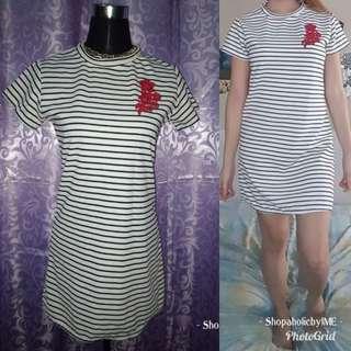 Shirt Dress stripe