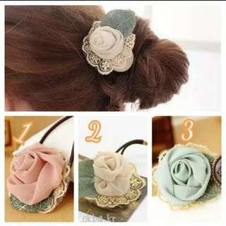 韓國玫瑰髮束
