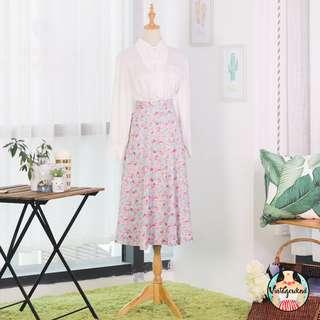 🍿 Vintage Midi Skirt VS1249
