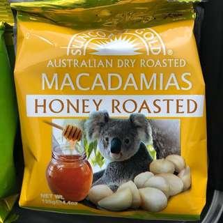 澳洲蜜糖夏威夷果仁 Australian Macadamias 125g