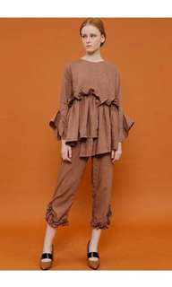 1 set blouse + pants MIRROIR