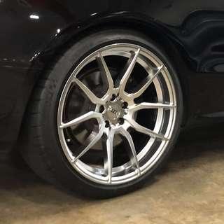 """Audi S5 20"""" Rim + Tyres"""