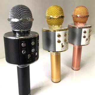 WS-858 Bluetooth Microphone q9 loud and bassy