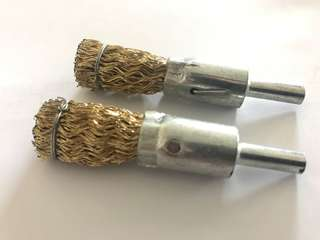 Brass End brush