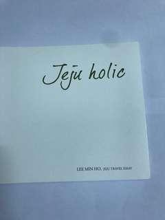 李敏鎬濟洲innisfree代言人寫真 限量版 全新 連包裝袋 Lee min ho innisfree