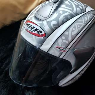 SALE! Imported Large Open Face Motorcycle Helmet (Malaysia)