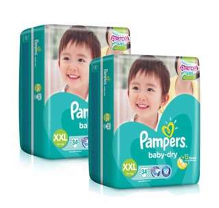 Pampers Baby Dry XXL