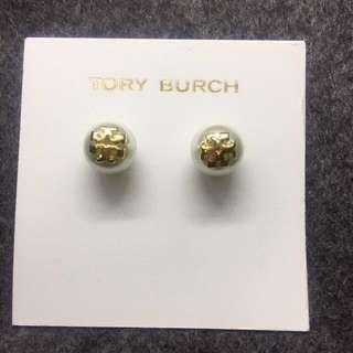 Tory Burch Earrings White 珍珠白色耳環