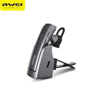 New! Awei Hands Free Car Handsfree Blutooth Cordless Earbud Wireless Headphone Auriculares Mini Bluetooth Headset Earphone For Phone